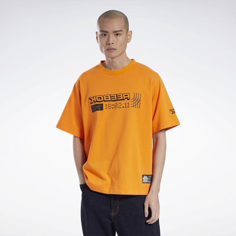 Футболка мужская Reebok BLACK EYE PATCH GM8339