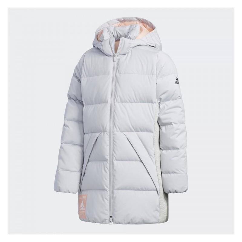 Пуховик детский Adidas YG J LONG DOWN EH4175