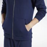 Толстовка мужская Reebok Training Essentials Fleece Zip Up FU3230