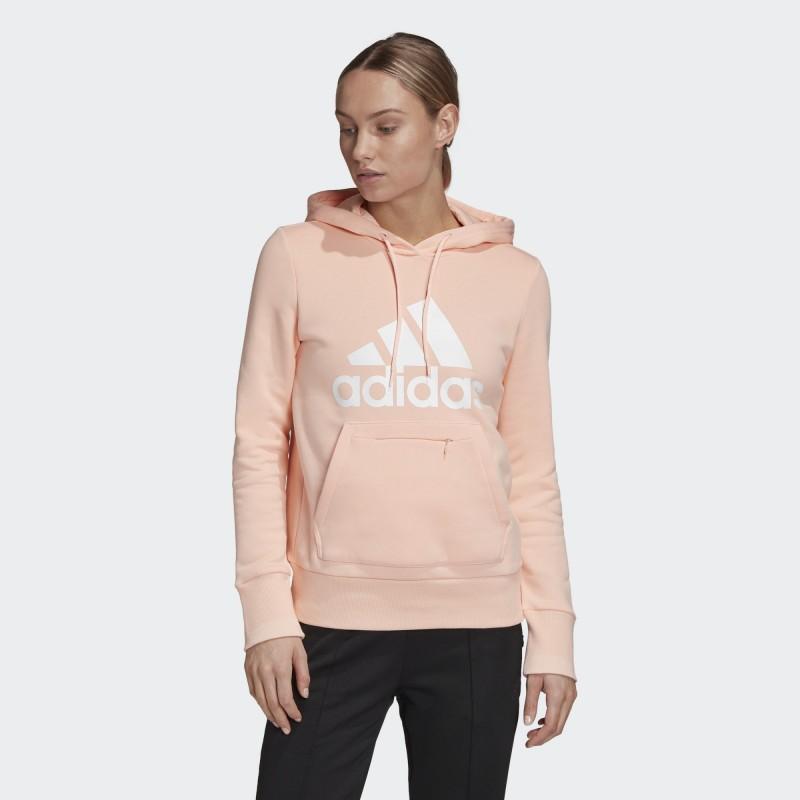 Флисовая худи женская Adidas Badge of Sport GC6918