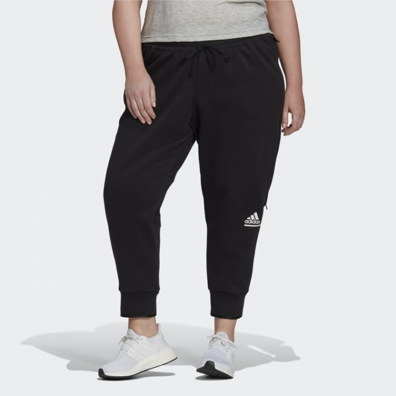 Брюки женские adidas Z.N.E. (Plus Size) GM3295
