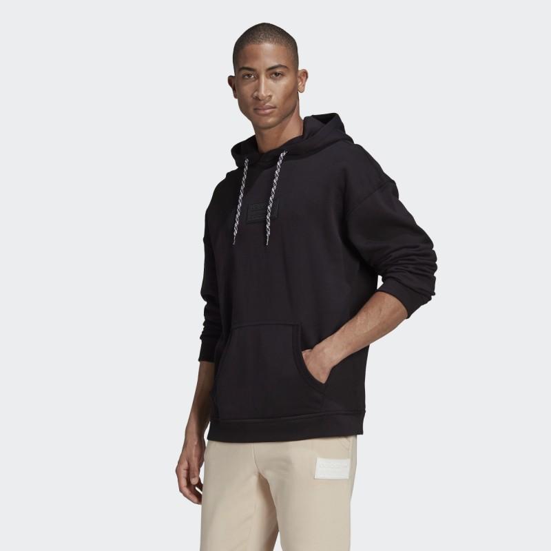 Худи мужское Adidas Originals RYV Silicone Badge GN3313