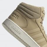 Кроссовки высокие женские Adidas   Hoops 2.0 Mid  GZ8039
