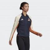 Бомбер женский Adidas W V City Jacket DX8420
