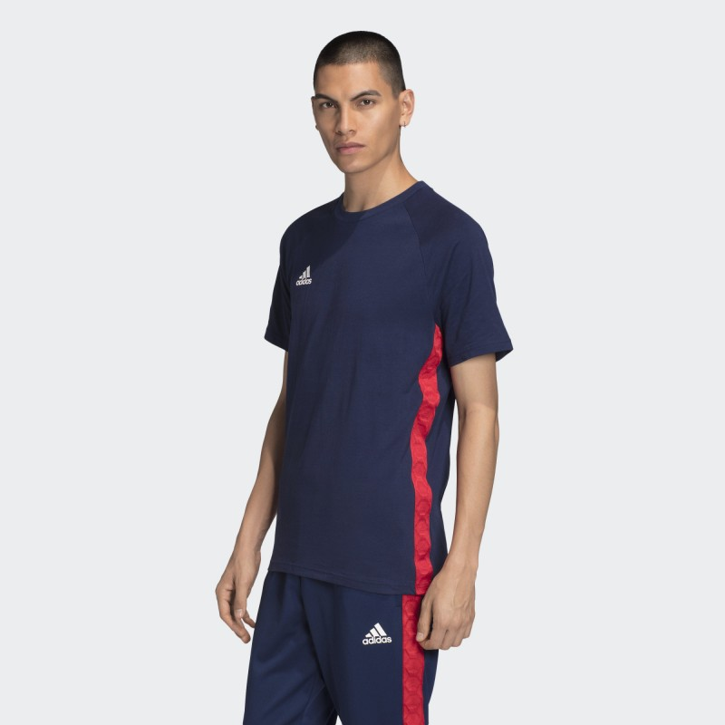 Футболка мужская  Adidas Tan Tape Tee FM0853