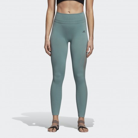 Леггинсы  женские Adidas Warp Knit High-Rise 7/8 Tights DM7193